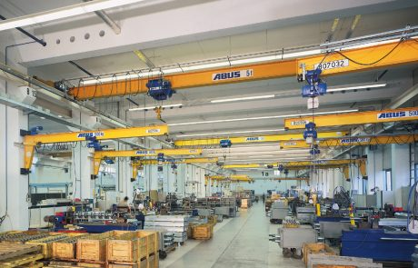 Cranes in Assembly workshop2