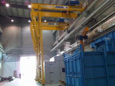 Cranes in Electrical Industries4