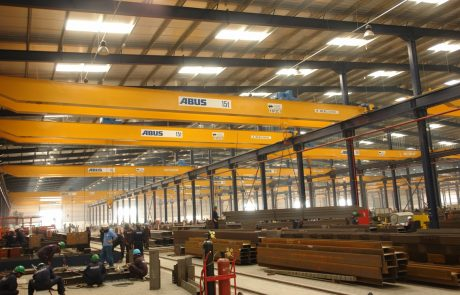 Cranes in Steel Fabrication5