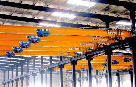 Cranes in Steel Fabrication6