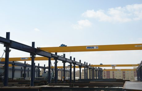 Cranes in Steel Stock Yard4