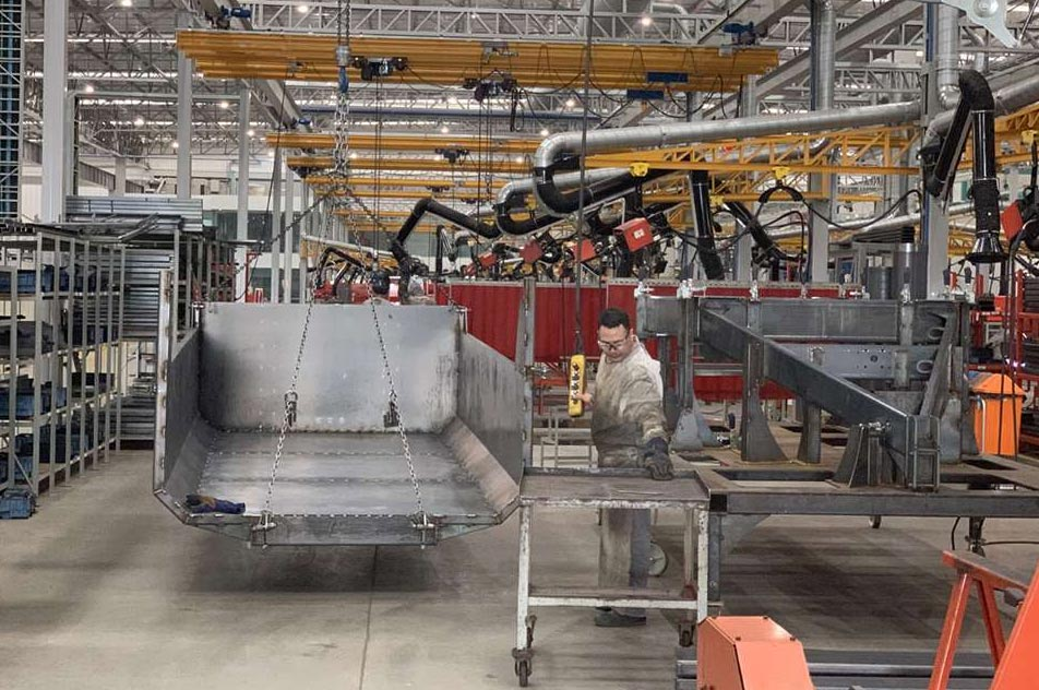 ABUS solve material flow for São José Industrial – a producer of agricultural machinery in Brazil