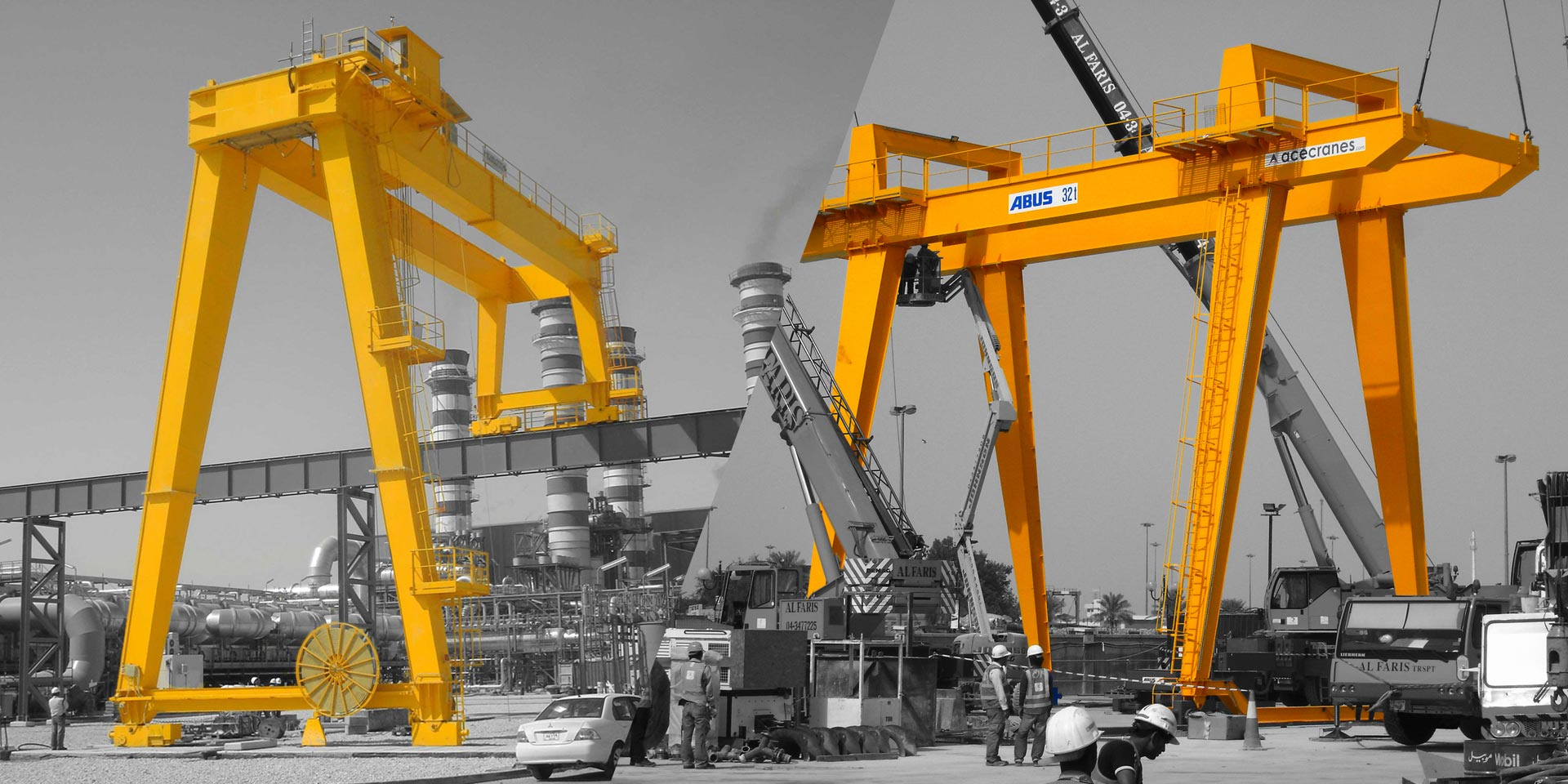Double-Girder-Goliath-Cranes-Cranes-Maufacturing-uae-ABUS-cranes-Ace-Carnes-Cover-Page-1