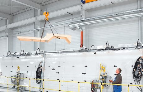Cranes in Aerospace