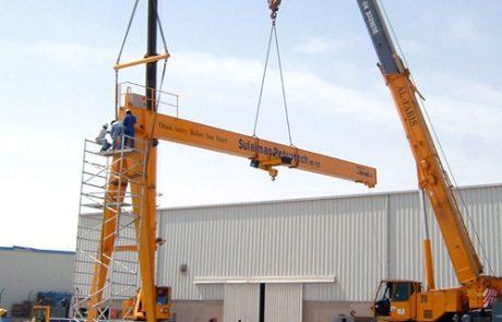 Cranes in Cement Industry