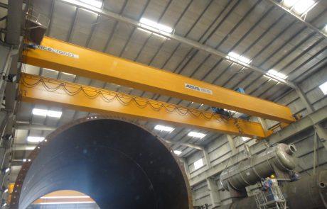 Cranes in Steel Fabrication10