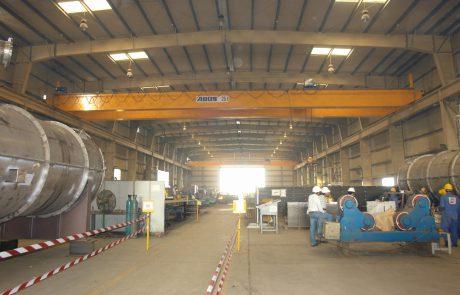 Cranes in Steel Fabrication13