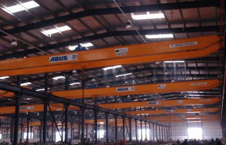 Cranes in Steel Fabrication14