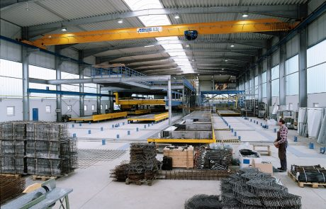 Cranes in Steel Fabrication17