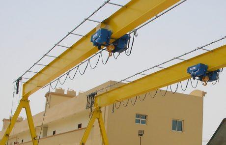 Cranes in Steel Fabrication20
