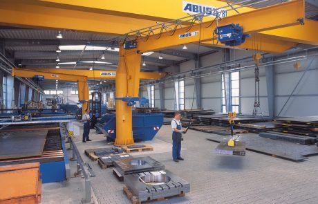 Cranes in Steel Fabrication22