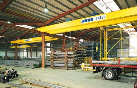 Cranes in Steel Stock Yard11