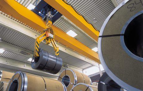 Cranes in Steel Stock Yard14