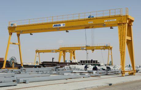Cranes in Steel Stock Yard2
