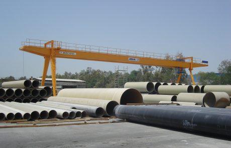 Cranes in pre cast concrete1