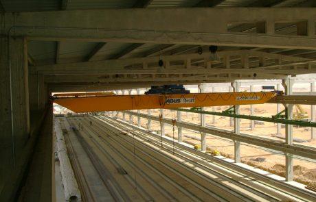 Cranes in pre cast concrete10