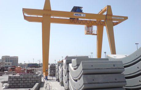 Cranes in pre cast concrete13