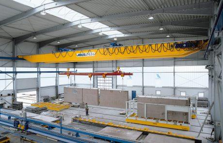 Cranes in pre cast concrete19