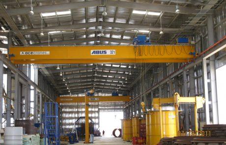 Cranes in pre cast concrete2