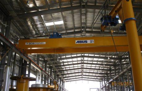 Cranes in pre cast concrete3