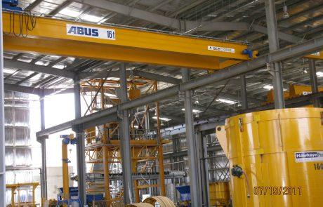 Cranes in pre cast concrete6