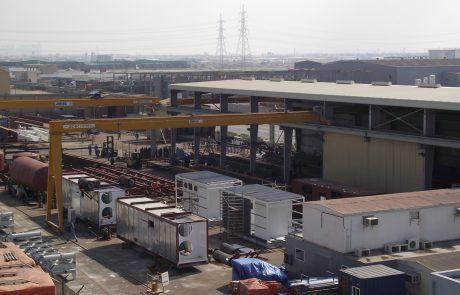 Semi Gantry Crane Ace Cranes Dubai1