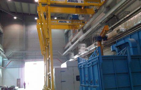 Semi Gantry Crane Ace Cranes Dubai2