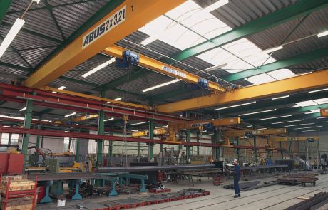 Single Girder Crane Ace Cranes Dubai2