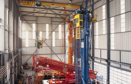 Single Girder Crane Ace Cranes Dubai4