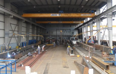 Single Girder Crane Ace Cranes Dubai6