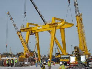 Tunnelling Cranes Ace Cranes Dubai2