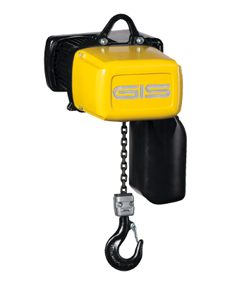 Electric chain hoist with frequency inverter