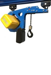 Low headroom version electric chain hoist