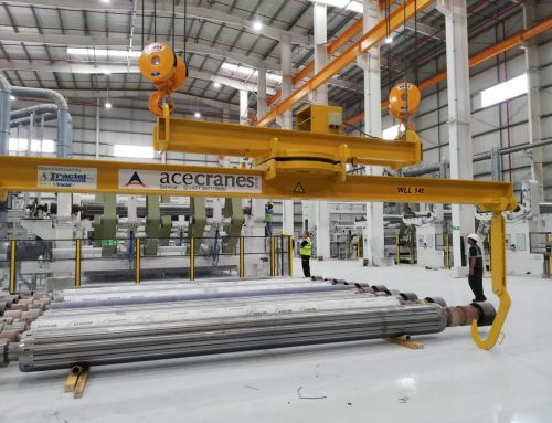 Paper Mill in Abu Dhabi selects ABUS again – THE BEST IN TERMS OF QUALIITY