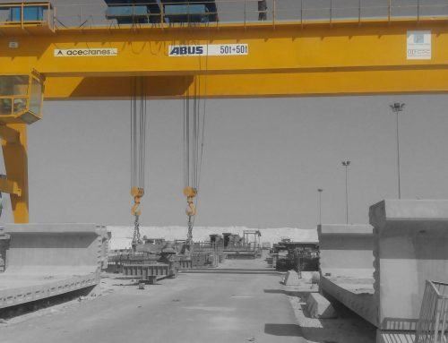 100t Gantry Cranes Utilized for Casting of Precast U Beam for Bridge Construction.